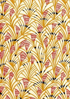 Textiles, textile design and patterns. Japanese Textiles, Japanese Patterns, Japanese Prints, Japanese Design, Motif Art Deco, Art Deco Pattern, Motifs Textiles, Textile Patterns, Floral Patterns