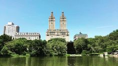 You can get lost paddling around Central Park. Views aren't too bad though