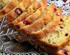 Worlds Best Cranberry Bread Cranberry Orange Yogurt Pecan Bread Best Gluten Free Recipes, Gf Recipes, Bread Recipes, Muffin Recipes, Recipies, Cranberry Orange Bread, Cranberry Recipes, Yogurt Bread, Orange Yogurt