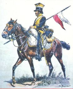 Napoleon's Vistula Legion (Poland) lancer.