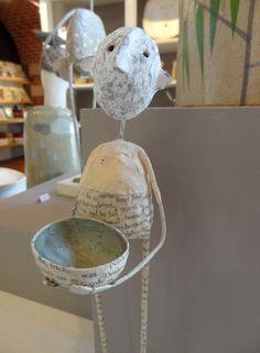 Figure holding Green Bowl by Jane Strawbridge £121