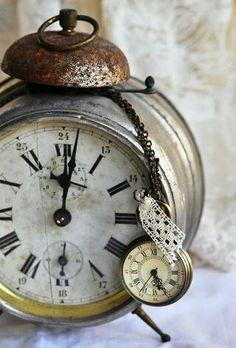 Lovely old clocks....
