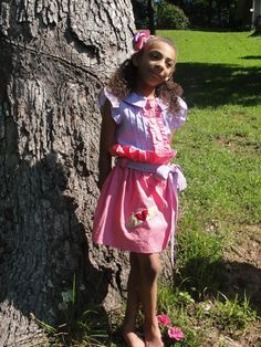 Pink and Purple Gingham Doc McStuffins by JustSewStinkinCute, $60.00