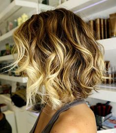 Ombre-hair-color-for-short-hair tye and dye salon hair shop salon de coiffure à Nice