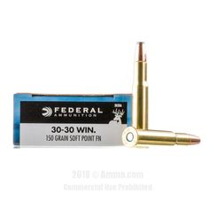 Federal 30-30 Ammo - 200 Rounds of 150 Grain SP Ammunition #3030Win #3030WinAmmo #Federal #FederalAmmo #Federal3030Win #SPAmmo