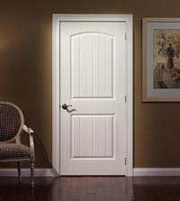 Jeld Wen 28 In X 80 In Molded Smooth 2 Panel Arch Plank