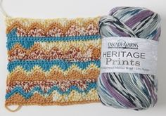 Heritage Prints by Cascade Yarns - A beautiful wool blend #yarn