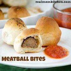 Meatball Bites | realmomkitchen.com