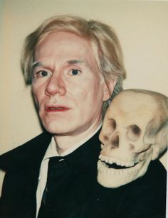 Andy Warhol-Self-Portrait with Skull