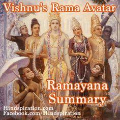 Rama Sita Lakshman Hanuman The epic #Ramayana summarised into a concise 5 minute read!  #Hindu #Hinduism #Rama #Lakshman #Sita #Hanuman #Vishnu #Lakshmi #Laxmi #Narayan