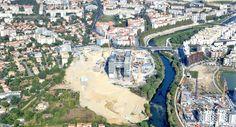 La nouvelle mairie de Montpellier, en France