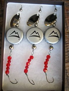 Fishing Lures Gifts for Men or Women  Coors by AudaciousApproach, $15.00