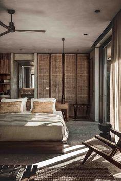 Casa Cook Chania On Greek Island Crete Bedroom Hotel Room Design Hotel Room Design, Design Living Room, Modern Bedroom Design, Monochrome Bedroom, Lounge Design, Modern Design, Home Design, Interior Design Studio, Casa Cook Hotel