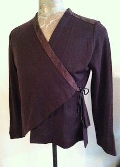 IMG_4846.jpg (1156×1600).  Fault Lines undershirt pattern to wear under Fault Lines vest.  Diane Erickson pattern.