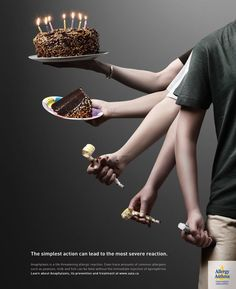 AAIA- Allergy, Asthma Information Association, is a Canadian charity dealing with Allergy, Asthma and Anaphylaxis. They organize and sponsor our annual Epipen-Take Action Events to Support Education and Research. They created this awsome ad that really makes you think!