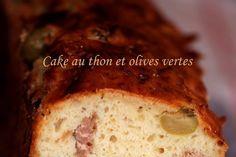 Cake au thon et olives vertes