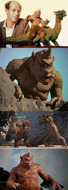 3/28/14 6:03a  Columbia Pictures ''The 7th Voyage of Sinbad''  Ray Harryhausen The Cyclops & The Dragon   1958
