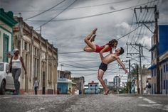 For Gabriel Davalos, photography is about storytelling Dancing in the streets of Cuba.
