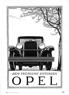 On March 7, 1929, General Motors bought 80% of Opel, Germany's largest carmaker. It would buy the rest in 1931.