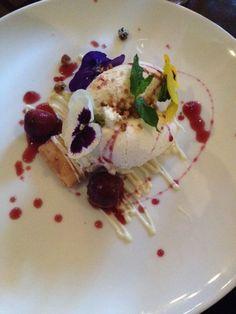Cherries & Mascarpone, The Arch Bistro, Dublin Cherries, Dublin, Waffles, Ireland, Arch, Breakfast, Food, Mascarpone, Maraschino Cherries