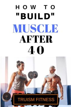 Why You're Not Building Muscle After 40 - Truism Fitness Building Muscle After 40, Muscle Building Women, Muscle Building Workouts, Bodybuilding Recipes, Men's Bodybuilding, Bodybuilding Supplements, Shoulder Workout, Bodybuilding Motivation, Gain Muscle