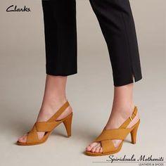 Clarks, Peep Toe, Pure Products, Heels, Fashion, Heel, Moda, Fashion Styles, High Heel