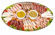 "Close up of cold meat catering platter with cold cuts of meat. ""You may have… - Types of Cheese Meat Cheese Platters, Meat Trays, Meat Platter, Turkey Platter, Fruit Trays, Food Trays, Meat And Potatoes Recipes, Meat Recipes For Dinner, Good Meatloaf Recipe"