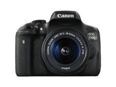 Canon EOS 750D Fotocamera Reflex Digitale, 24 Megapixel, Obiettivo EF-S 18-55 mm…
