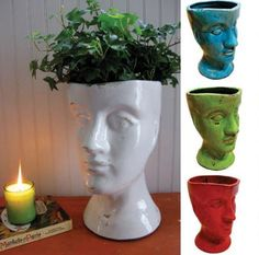 | Copy Cat Chic | chic for cheap: Male & Female Bust Vases