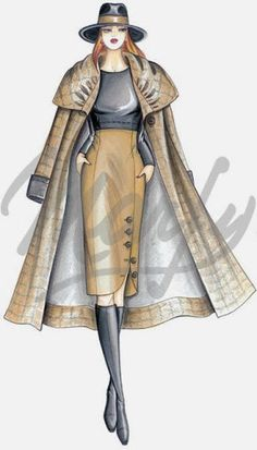great Marfy dress -- it'd be a gorgeous skirt, too Dress Design Drawing, Dress Design Sketches, Fashion Design Sketchbook, Fashion Design Portfolio, Fashion Design Drawings, Fashion Sketches, Fashion Drawing Dresses, Fashion Illustration Dresses, Purple Fashion