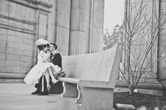 San Francisco Courthouse Wedding Ruffled