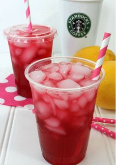 Save this copycat Starbucks recipe to recreate a Passion Tea Lemonade at home.