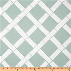 Premier Prints Key West Twill Powder Blue. I LOVE THIS FABRIC! White and powder blue. $7.48 right now at Fabric.com.