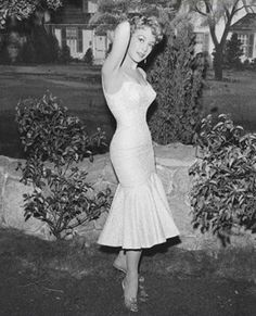 Barbara Eden I think this when she appeared on I Love Lucy (living in the country) -- the outfit looks familiar
