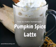 Homemade, gluten free, pumpkin spice latte without funky chemicals or aftertaste.Sub in heavy cream and splenda for low carb.