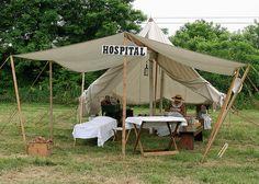 Civil War Field Hospital by twg1942, via Flickr