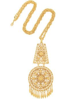"""Ben-Amun Gold-plated necklace 
