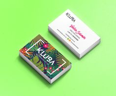 Tarjetas personales | Business cards. Identidad gráfica para Kluba Business Card Design, Creative Business, Business Cards, Creative Design, Web Design, Graphic Design, Ps, Surfing, Card Holder