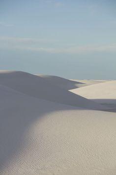 New Mexico - Sand dunes Landscape Photos, Landscape Photography, Nature Photography, Travel Photography, Desert Landscape, White Sands National Monument, White Aesthetic, Aesthetic Wallpapers, Wilderness