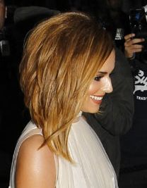 Thinking about cutting it, but not too short. Hair shoulder-length bob
