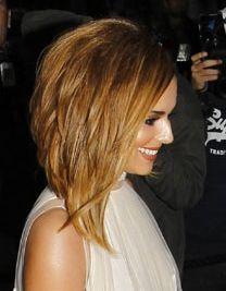 Hair shoulder-length bob  I so totally want this!!!