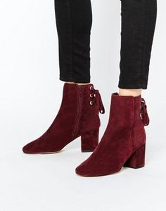 ef6615151820f ASOS RENI Suede Ankle Boots Sneaker Boots