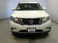 2014 Nissan PathfinderHybrid SV 4x4 SV 4dr SUV SUV 4 Doors White for sale in Skokie, IL Source: http://www.usedcarsgroup.com/used-nissan-for-sale-in-skokie-il