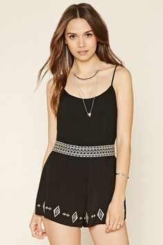 Stay fun & flirty with rompers from Forever Whether you're looking for dressy long sleeve rompers or casual denim rompers, find styles for any occasion. Fashion Wear, Girl Fashion, Fashion Dresses, Womens Fashion, Stylish Outfits, Cool Outfits, Summer Outfits, Fashion Bible, Playsuits