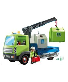 Glass Sorting Truck Play Set (PLAYMOBIL) - Recommended Ages: 4-10 YRS. OLD --> $34.99 regularly, $26.99 on ZULILY (05/26/16).
