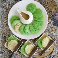 Kue serabi Indonesia snack