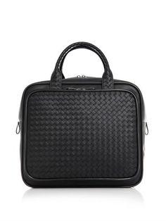 Intrecciato leather carry-on bag   Bottega Veneta   MATCHESFAS...
