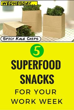 Supercharge your work week with these superfood snacks >> http://www.ulive.com/video/5-superfood-snacks-for-your-work-week