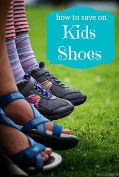 Learn How to Save Money on Kids Shoes from  FaithfulProvisions.com