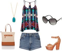 """""""Spring Hippy"""" by roxybluemoon on Polyvore"""